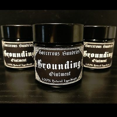 Handmade Grounding Ointment - wicca, pagan, witchcraft