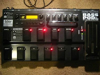 LINE6 BASS POD XT LIVE  + Power Supply - great profy processor for BASS and SOLO