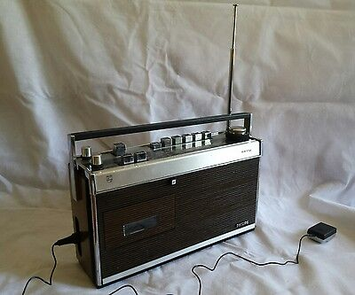 1970s Philips RR 712 Radio Cassette player Finland