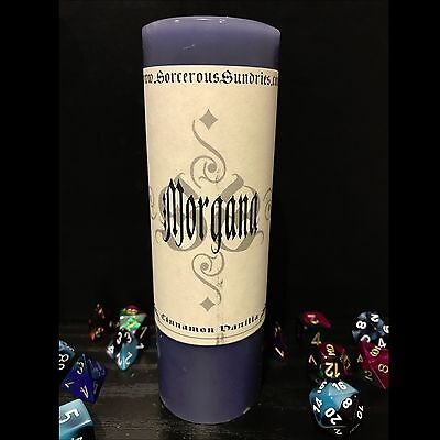 Morgana inspired scented candle - wicca, goth, paga, witchcraft !sale!