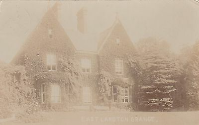East Langton Grange, Country House, East Langton, Leicestershire. Rp, 1913.