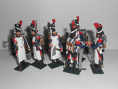 54mm Napoleonic Sappers of the Imperial Guard toy soldiers by John Eden Studios