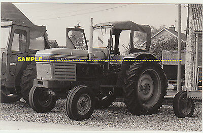Northorpe C1970s Real Photo Leyland Tractor Close Up, Nr Bourne, Lincolnshire