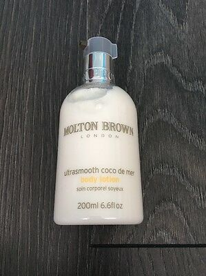 Molton Brown London Ultra Smooth Coco De Mer Body Lotion 200ml New Moisturiser
