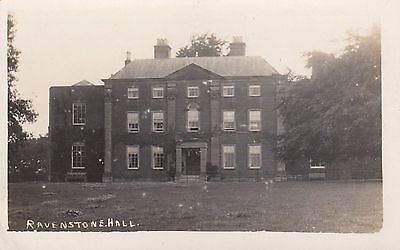 Ravenstone Hall, Country House, Ravenstone, Leicestershire. Rp, C1920.