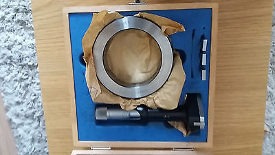 """Bowers 3-4"""" Bore Micrometer With Settong Ring"""