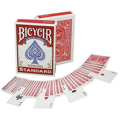 Magic Card Trick Marked Stripper Deck Bicycle Cards Red Tricks Playing Poker Set