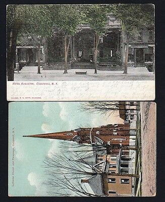 Cobleskill Ny~2 Early 1907 Views