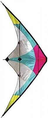 Stunt Kite - 120 X 60 Cm Dual Line Kite - High Flying Kite With Multi Coloured