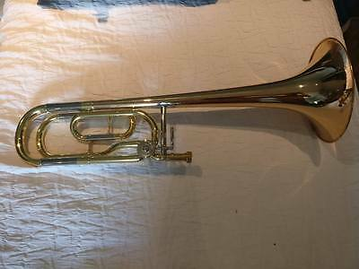 Yamaha YSL-448G Tenor Trombone, with Bb/ F Trigger, Original Case and Mouthpiece