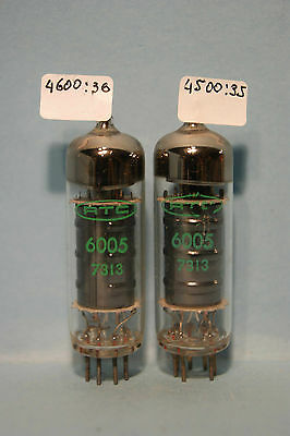 2 NOS  6005 = 6AQ5W  STC  made in France Tube Valve Rohe