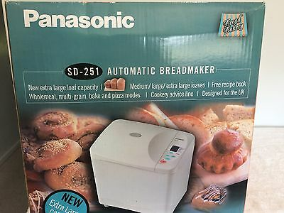Panasonic SD-251 Bread Machine - Reduced!