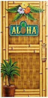 Beistle 57314 Aloha Door cover, 76,2 cm x 5 ' (n3g)