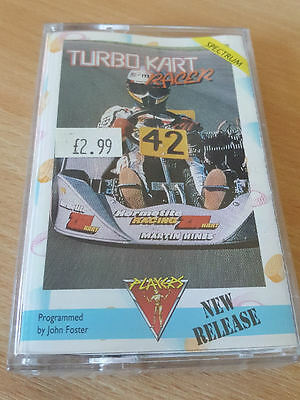 Sinclair ZX Spectrum game Turbo Kart Racer by Players