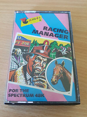 Sinclair ZX Spectrum game Racing Manager by Virgin Games