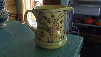 Honiton Jug Art Deco hand painted Collard