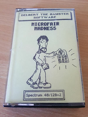 Sinclair ZX Spectrum game Microfair Madness 128k by Delbert the Hamster