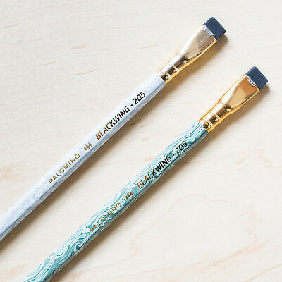 2 x Palomino Blackwing Pencils Limited Edition 205 Writing Pencil Cedar Firm 602