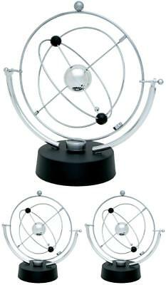 Motion Perpetual Toy Desk Kinetic Electronic Art Office Revolving Gift Decor New
