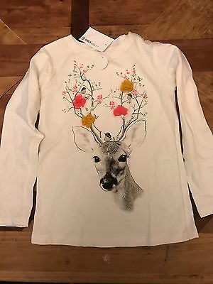 Girls Long Sleeve Top NWT Size 5