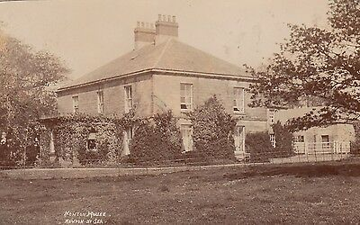 Newton House, Country House, Newton-By-The-Sea, Northumberland. Rp, C1910.