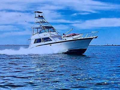 1981 55 Foot Hatteras 55 Convertible /Sport Fisherman Detailed for New Owners !