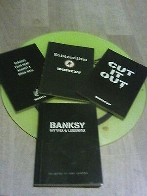 banksy collection of little black books
