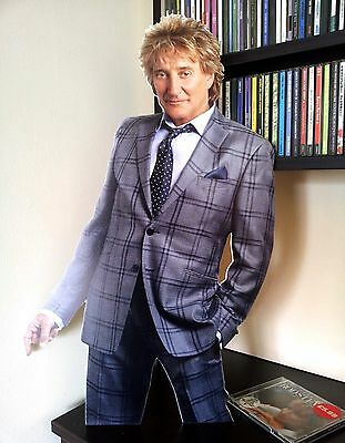 Rod Stewart Display STAND Standee NEW Baby Jane Sailing Maggie May Forever Young