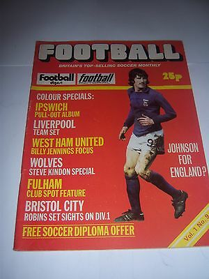 Football (Monthly) Magazine - March 1975 Vol1 #9 - Ipswich Town / Fulham