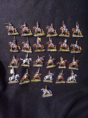 Painted French army Cuirassier brigade 1809-12 15mm miniaturs