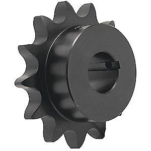 TRITAN Roller Chain Sprocket,Finished Bore, 40BS12H X 1