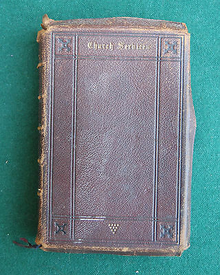 Church Services - Book of Common Prayer... - Antique? Vintage - Religious London