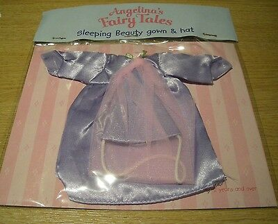 Angelina Ballerina Outfit - Sleeping Beauty Gown + Hat - Bnip