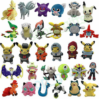 Pokemon Sun/Moon GO 2017 Plush Soft Toy Stuffed Animal Doll Teddy Figure