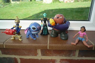 Lilo and Stitch Plastic Figures Lovely Bundle