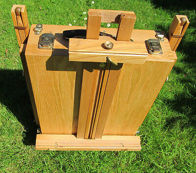 Wooden Tripod Art Field/travel  Easel Portable  Painting sketching Drawing