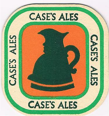 1 Bierdeckel Sous Bock Beermat Beer Mat Coaster Case's Cat No 6