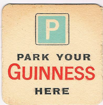 1 Bierdeckel Sous Bock Beermat Beer Mat Coaster Guinness Cat No 163