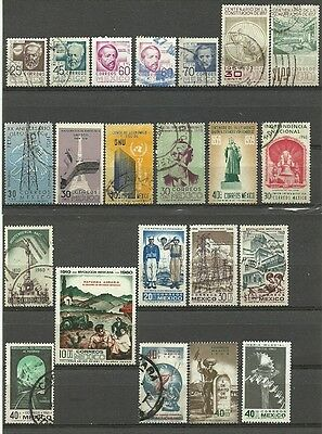 Mexico mint/used lot 1956-62