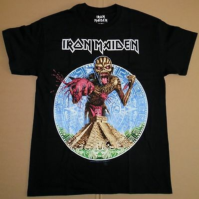 ORIGINAL IRON MAIDEN Book of Souls TOUR Mexico Event Shirt 2016 SIZE LARGE