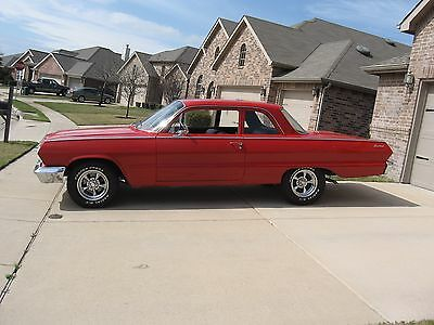 1963 Chevrolet Other 2 Door 1963 Chevrolet Biscayne Red 2-Door V-8 Automatic