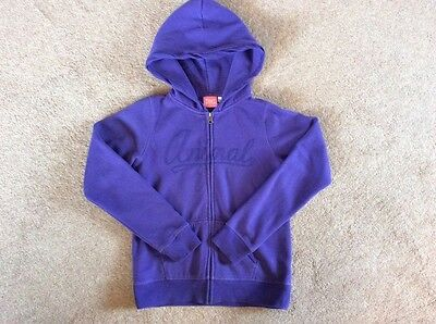 Girls Animal zip up Hoody age 11-12 yrs