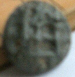 Metal detector find.Ancient lead seal/token/coin?