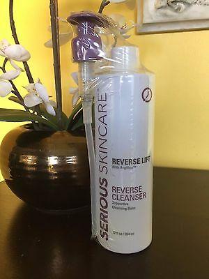 SERIOUS SKIN CARE REVERSE LIFT CLEANSER with ARGIFIRM  ~12 OZ / NEW