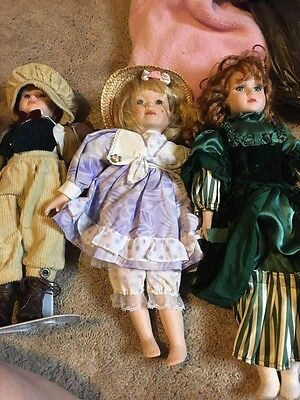 Porcelain Dolls (selling individually this is for the Girl in Purple) - x posted