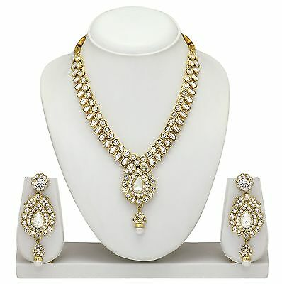 South Indian Golden traditional Necklace Jewelry set Auction Start From $ 9.99