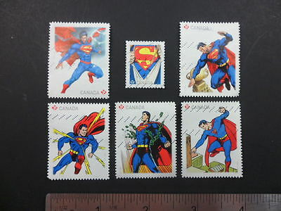 Superman Stamps from Canada