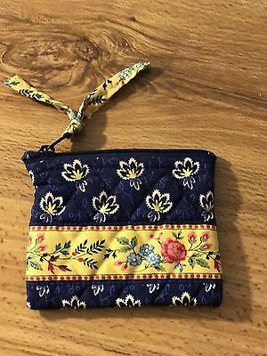 Vera Bradley Fabric Coin Purse.