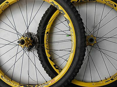 Mavic DEEMAX downhill wheel set 26