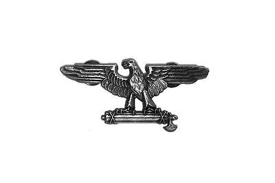 Roman SPQR/Italian WW2 Fascist Eagle with Fasces Pin/Broach, Mussolini's Italy